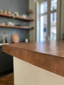finition meuble bar
