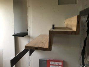 marches d'escalier en chêne