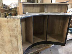 Fabrication de meubles sur mesure pour magasins