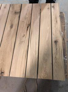 planches chêne massif