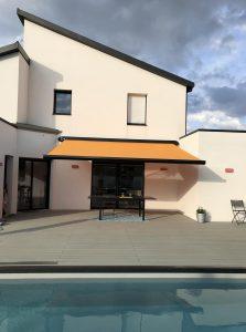 maison terrasse et piscine