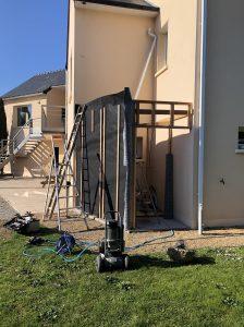Construction ossature bois pour poll house